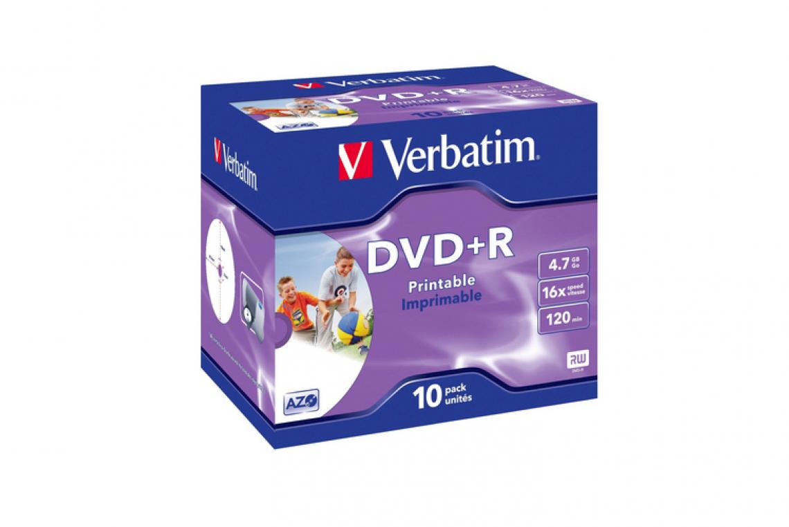 Es werden ausschliesslich Datenträger der Marke Verbatim verwendet (Kompatibilität mit Ihrem Laufwerk)..